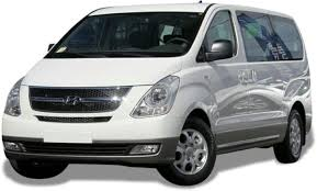 8-Seater Van (White Color)