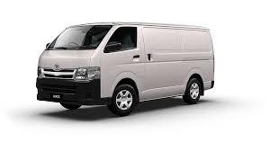 Toyota Hiace LWB AUTO DIESEL 1 TON DELIVERY VAN
