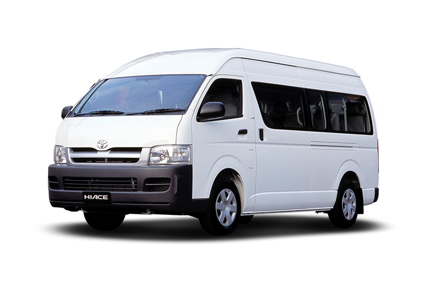 Toyota Commuter 12-Seater Auto Bus